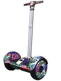 ГИРОСКУТЕР SMART BALANCE А8 Джунгли10,5 дюймов, Сигвей с ручкой А8Джунгли с надувными колесами