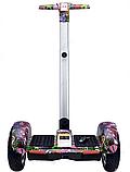 ГИРОСКУТЕР SMART BALANCE А8 Джунгли 10,5 дюймов, Сигвей с ручкой А8 Джунгли с надувными колесами, фото 2