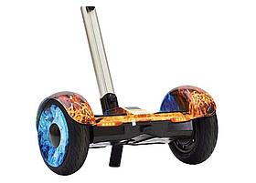 ГИРОСКУТЕР SMART BALANCE А8 Огонь и лед10,5 дюймов, Сигвей с ручкой А8Огонь и лед с надувными колесами