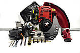 "Мотокоса бензинова 4-х тактний HONDA GX35 (3,5 кВт.) Комплектація ""PLATINUM"" тример кущоріз бензокоса Хонда, фото 2"