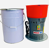 ЗЕРНОДРОБАРКА МІНСЬК МЗТ ДЗ-25 (1.3 кВт, 300 кг/год). Кормоізмельчітель з баком 25 л. ДКУ, фото 4