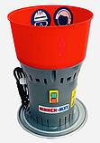 ЗЕРНОДРОБАРКА МІНСЬК МЗТ ДЗ-25 (1.3 кВт, 300 кг/год). Кормоізмельчітель з баком 25 л. ДКУ, фото 10