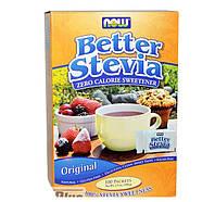 Стевия NOW Better Stevia 100 packets (100 g)