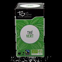 Чай зеленый неферментированый в пакетиках органический Touch Organic,48г (24*2г)