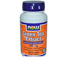 Зелёный чай NOW Green Tea Extract (100 caps)