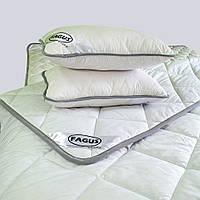 """Комплект для сну Fagus """"MAXI"""" з вовни мериносів колір Білий - Євро"""
