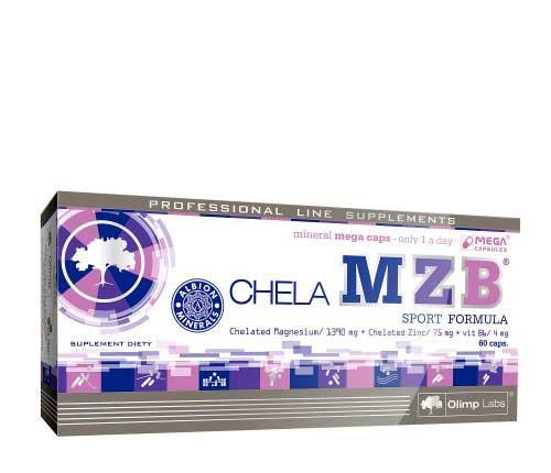 Магний-цинк Olimp Chela MZB – ZMA REPLACEMENT (60 caps)