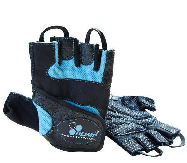 Перчатки Olimp Hardcore Fitness STAR Blue (xs,s,m,l,xl)