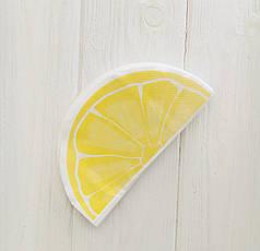 """Серветки """"Lemon"""" часточки лимона (8 ШТ.)"""