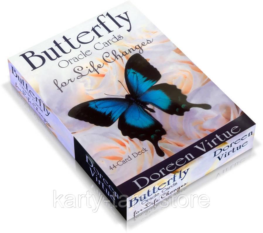 Карты Таро Оракул Бабочки для Перемен в жизни / Butterfly Oracle Cards for Life Changes
