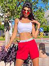 Жіночий літній костюм з топом і короткими вільними шортами (р. S-L) 5101881, фото 5