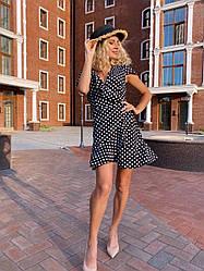 Сарафан жіночій сукня літня горошек розміри 42 44 46 Новинка 2021 забарвлення 6