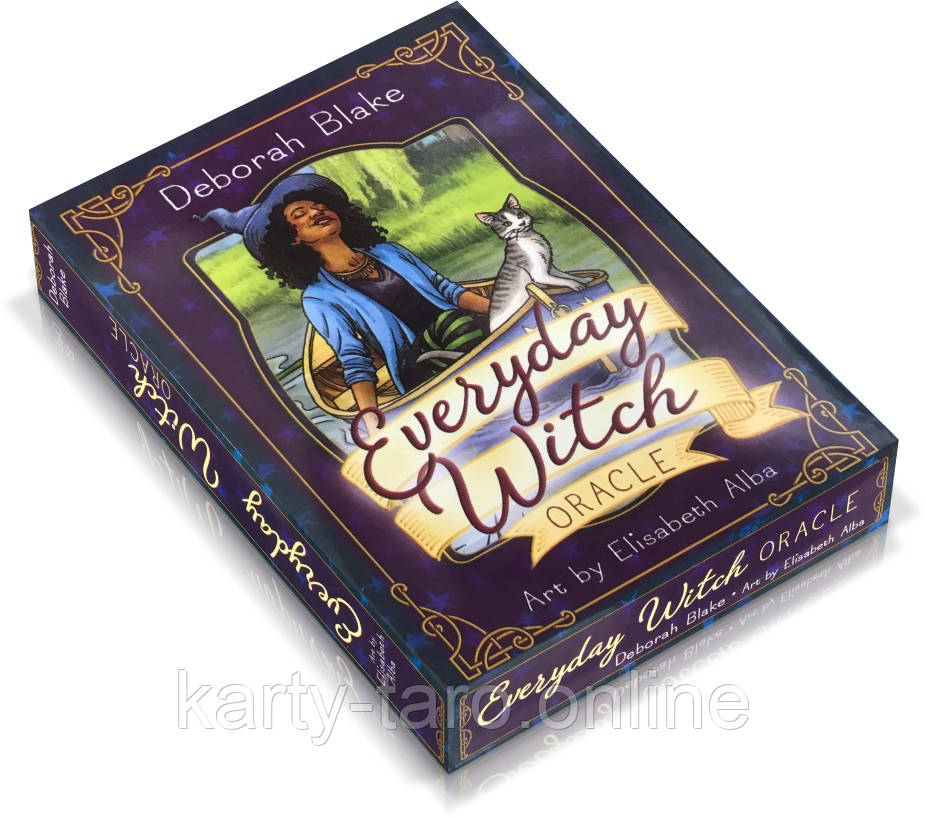 Карты Таро Оракул Ежедневный Оракул Ведьм (Ведьма Каждый День Оракул) / Everyday Witch Oracle
