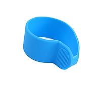 Резиновый антискользящий синий чехол для курка газа электросамоката Xiaomi M365/M365 Pro