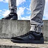 Кросівки чоловічі чорного кольору (Л-131-5121), фото 2