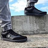 Кросівки чоловічі чорного кольору (Л-131-5121), фото 3