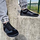 Кросівки чоловічі чорного кольору (Л-131-5121), фото 4
