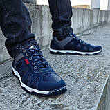 Кросівки чоловічі демісезонні синього кольору (Кф-15с), фото 2