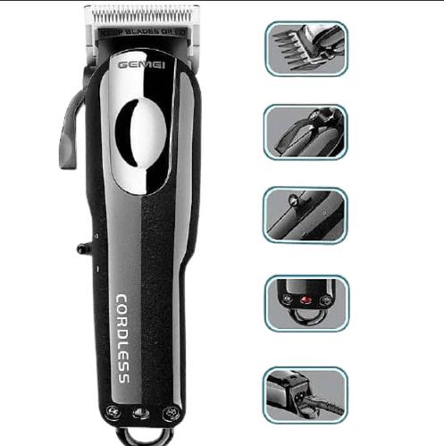 Професійна машинка для стрижки Gemei GM 805 чорний