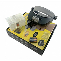 Лупа бинокулярная Magnifier MG81001(RD) 3.5x