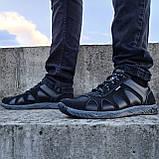 Кроссовки мужские демисезонные черного цвета (КФ-15ч), фото 2