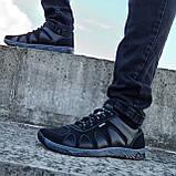 Кроссовки мужские демисезонные черного цвета (КФ-15ч), фото 4