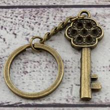 Брелок винтажный  Ключ от Сердца 5х2см,