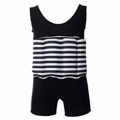 Купальник-поплавок для хлопчиків baby Safe swim M Чорний в смужку