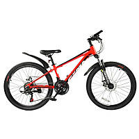 """Велосипед RoyalBaby FEMA MTB 1.0 24"""", OFFICIAL UA, красный"""