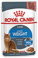 Royal Canin Light Weight Car в соусе, 12 шт