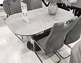 Стол TML-865 серый топаз керамика 140/180х85 (бесплатная доставка), фото 2