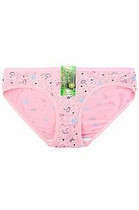 Трусы женские розовые AAA 132984P