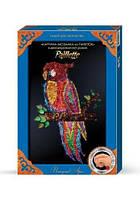 Мозаика из пайеток Попугай