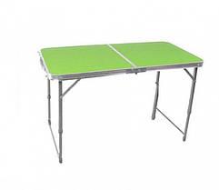 Раскладной туристический стол  для пикника и туризма Зеленый