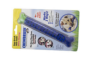 Зубна щітка для собак Elite - ChewBrush (EL-1025), (Оригінал)