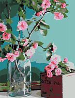 Набор-стандарт акриловая живопись по номерам Нежность цветов ROSA START