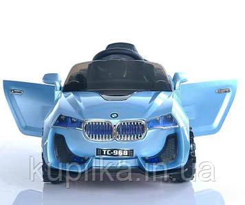 Детский электромобиль 100-968 синий