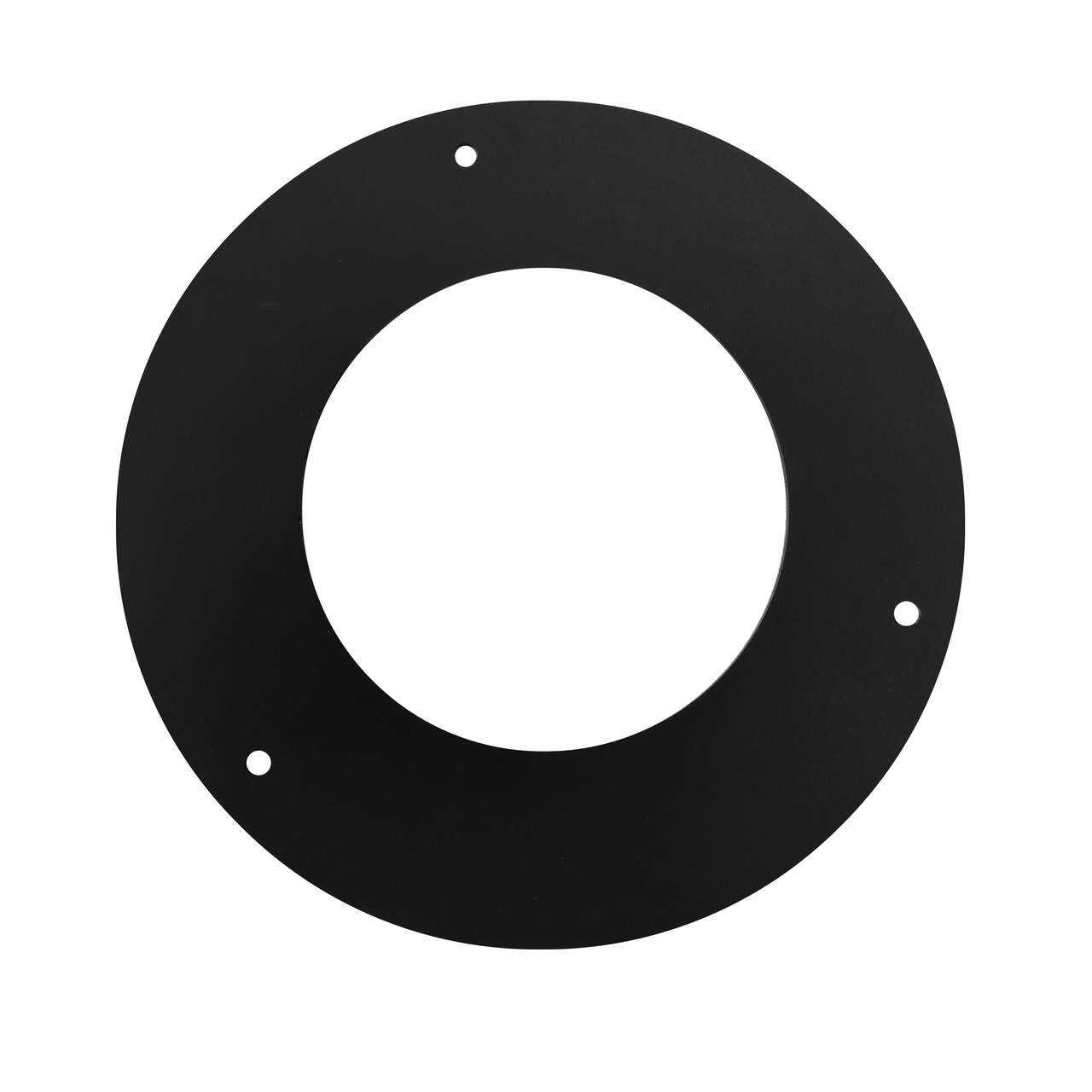 Розетта 90° ø150 мм 2 мм для каміна печі димоходу димохідна з чорного металу кольору чорної сталі Версія-Люкс