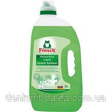 Гель Фрош Лимон для миття посуду Frosch Green Lemon 5 л