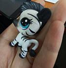 Littlest pet shop lps игрушка Hasbro лпс пет шоп зебра, фото 2