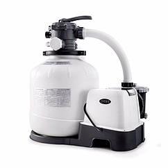 Хлоргенератор с песочным фильтрующим насосом Intex 26676 (7 г/час, 7 900 л/час, 35 кг) Krystal Clear®