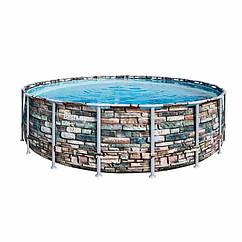 Круглый каркасный бассейн Bestway 56886 (549 x 132 см) Power Steel™