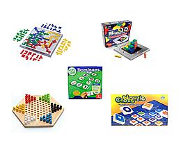 Набір настільних ігор для розвитку логіки та творчості
