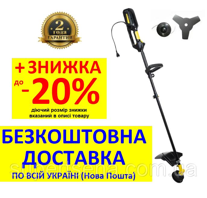 Электрокоса СК-1438Е (1,4 кВт) +БЕСПЛАТНАЯ ДОСТАВКА! КЕНТАВР, с ножом 3-х зуб.