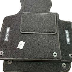 Килимки в салон ворсові AVTM для Audi /Ауді Q7 (2015-) /Чорні 5шт BLCCR1034