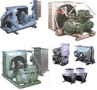 Холод. маш. (МВВ3-2-2, 1МВВ3-2-2,2МВВ3-2-2, 5МВВ6-2-2,1МВВ9-2-2,МВВД35-2-4) для охлажд воздуха с возд. конден.