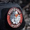 M-Tac нашивка Sons of Odin 3D PVC Black/Red, фото 3