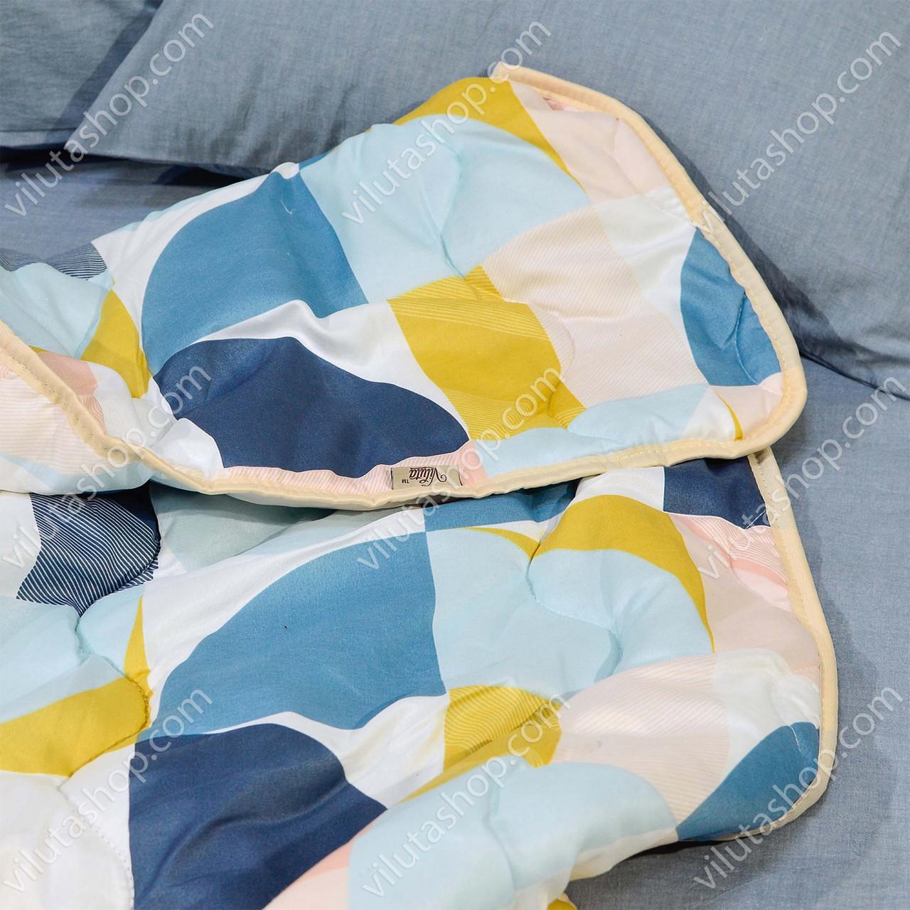 """Одеяло Евро размер  200х220 см силиконовое стеганое """"Стандарт"""" Теплое"""