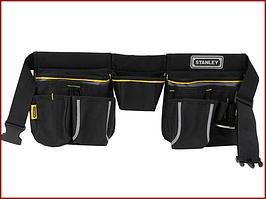 Пояс для інструменту подвійний 10 кишень Basic Stanley Tool Apron 1-96-178
