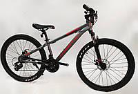 """Велосипед Kinetic Profi 26"""" сірий, фото 1"""